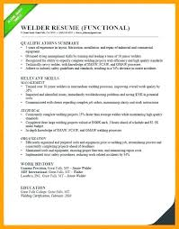 Welding Resume Objective Statement Welder Fabricator Template Welders Templates Sample Fitter Ideas Pr