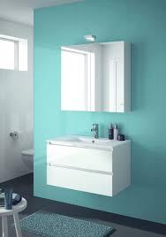 allibert badmöbel set badmöbel vormontiert weiß spiegelschrank waschtisch 80 cm