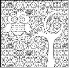 Unbelievable Hard Coloring Pages Printable With For Adults And Difficult