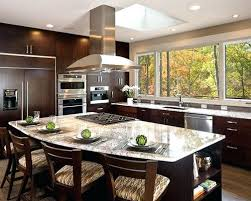 Kitchen Island With Cooktop Granite Shapes Regarding Stove Top Architecture 8 Plans For Permanent