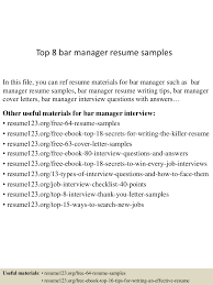 Top 8 Bar Manager Resume Samples Sales Manager Job Description For Resume Operations Examples 2019 Best Restaurant Assistant Example Livecareer General Luxury Bar Security Intern Sample 20 Plus Kenyafuntripcom Hospality Complete Guide Tips Cv Crossword Mplate Example Hotel General Retail Store Beautiful Business Lan N Bank Branch Plan Template New Samples And Templates Visualcv Bar Manager Duties Jasonkellyphotoco