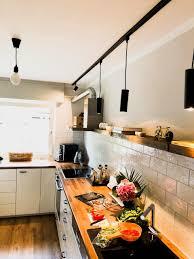 unsere neue küche ist aufgebaut keine oberschränke