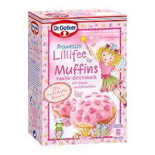 prinzessin lillifee muffins vanille geschmack