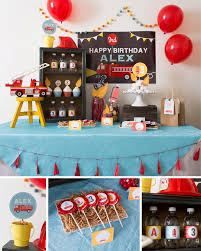 100 Fire Truck Birthday Party 6 Best For Boys Decorations Images On Home