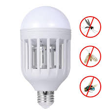 electronic mosquito insect killer bug zapper light bulb fits in
