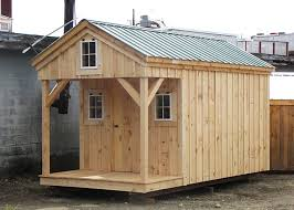 8x12 Storage Shed Kit by Bunk House