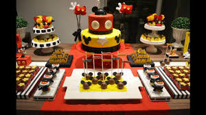 Mickey mouse party decorating ideas