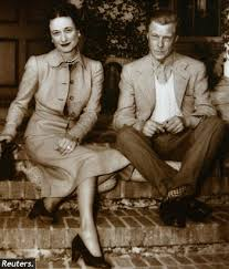 King Edward V11 Chair by American The Wallis Simpson Story Told Differently
