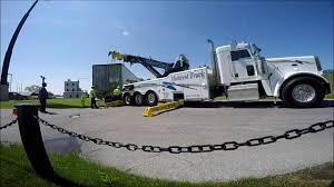 100 Midwest Truck Show Rotator Job Trailer Lift Near Burger King 5 13 2016