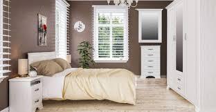 schlafzimmer set komplett 5 teilig kleiderschrank nachttische bett 160x200cm weiß