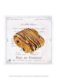 Framed Pain Au Chocolat Print