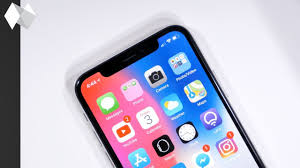 iPhone X How to See your Battery Percentage Icon
