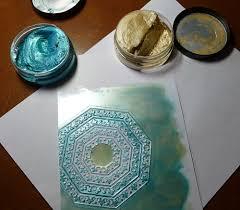 Viva Decor Inka Gold Turquoise by Pickled Memories December 2013