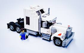 LEGO IDEAS - Product Ideas - Classic Semi Truck - Kenworth W900 Tiny Turbos Concept Semi Truck Digibrickz White Custom Lego Extended Sleeper Cab With Chrome Trim Ideas Product Ideas Heavy Duty And Road Grader Brickcreator A Red 29 American Super Long Nose Distance Flickr Lego Moc Big Rig Day Cab Single Axle Semi Truck Itructions Ldd Grain Trailers Bin 7 Steps With Pictures Trailer Set Rts House Of Coolness