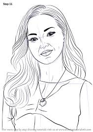 Learn How To Draw Dove Cameron Step By Liv And Maddie Coloring Pages