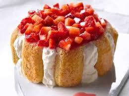 fraises à la neige de fromage blanc facile et pas cher recette