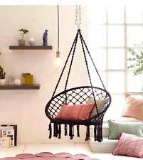 Hanging Chair Indoor Ebay by Ebay Hanging Chair Perfect Finished Embroidery Hanging Chair