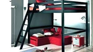 lit avec bureau int r lit mezzanine 2 personne lit 2 places bois lit mezzanine 2 places
