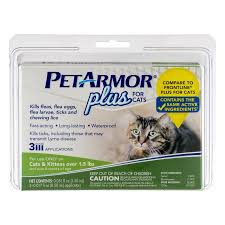 heartgard for cats pet armor plus flea and tick protection for cats 3 monthly doses