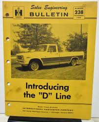 1969 IHC International D Line Truck Salesman Book Pickup Travelall ... Whats On First 1972 Intertional Harvester Pickup Truck Photos 73 Loadstar 1700 4x4 Going Off Road Youtube Project Car 1952 Lseries Classic Rollections 1969 Scout 800a V8 Convertible Travelette By Jarewyn On Deviantart 800a Sold Essential Buying Guide 80 800 Truckfax Binders Big And Not So 1967 Intionalharvester 1100 Quad Cab The Jeeps Most Unsuccessful Rival