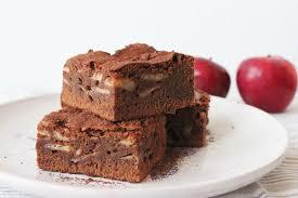 rezept einfache apfel brownies kuchen torten