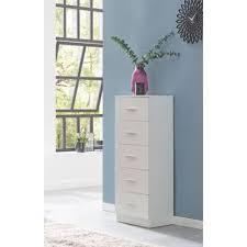 wohnling design sideboard wl5 859 weiß hochglanz 41x108x30