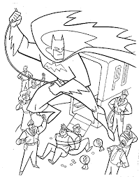 New Batman Free Coloring Pages Letscoloringpages Best