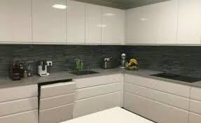 küchennischen deko küchenrückwand spritzschutz wandschutz