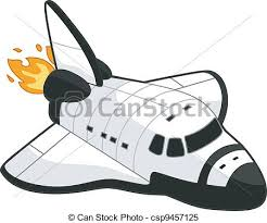 Illustration of a space shuttle clipart vector Search