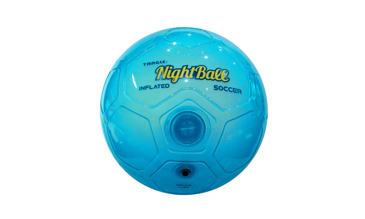 Tangle Nightball Light up Football - Blue