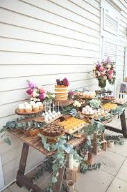 Rustic Table Decorations Tissue Paper Flowers Decoration
