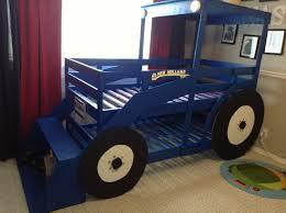diy tractor bunk bed for boys