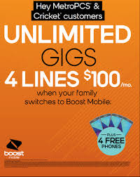 Boost Mobile To Offer Four Lines Of The Unlimited Gigs Plan ... Bed Bath And Beyond Coupon In Store Printable Bjs Colorado Mobile Codes Pier One Imports Hours Today Boost Promo Code Free Giftcard 100 Real New Feature Update Create More Targeted Coupons With Hubspot Vip Wireless Wish Promo Code May 2019 Existing Customers Kohls Cash How To Videos Coupon Barcode Formats Upc Codes Bar Graphics Management Woocommerce Docs Whats A On Roblox Adventure Landing Coupons 5 Motorola Available November