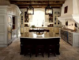 Traditional Rustic Kitchen French Style