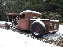 1936 36 International Harvester Truck Pickup Rat Rod Hot Rod Bobber ...