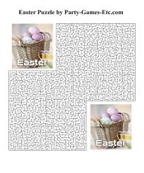 Free Printable Easter Party Game And Pen Paper Activity