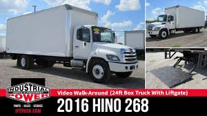 100 Truck Liftgate 2016 HINO 268 24ft Box With Lift Gate IP YouTube