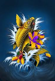 Paintings For Traditional Japanese Koi