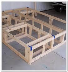 king size platform bed with storage plans home design ideas