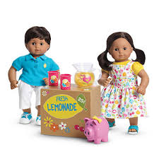 Amazoncom American Girl Bitty Twins Lemonade Stand Set Toys Games