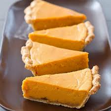 Bobby Flay Pumpkin Pie With Cinnamon Crunch by Pies With Heavy Grainy Cloying Fillings Were Not Our Idea Of