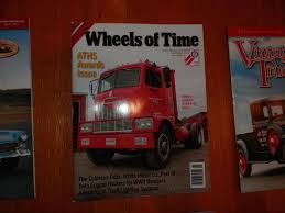 100 Vintage Truck Magazine Lot Of S Wheels Of Time ATHS 1837492430
