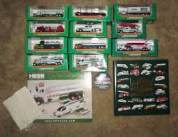 100 Hess Toy Truck Values Collection Lot Of 52 Items S Minis Book