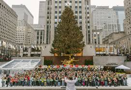 Rockefeller Christmas Tree Lighting 2015 Performers by Best Christmas Caroling Opportunities In Nyc For Spreading Cheer