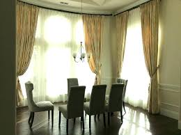 Casual Dining Room Curtain Ideas Medium Images Of Curtains For