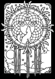 Dreamcatcher Coloring Page Dover Publications Derby Party Art For Me To Do