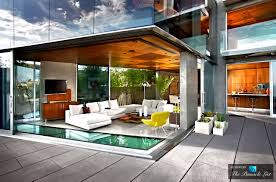 100 Contemporary Glass Houses Lemperle House Residence 5672 Dolphin Place San