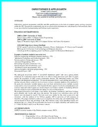 Incomplete Education On Resume Examples