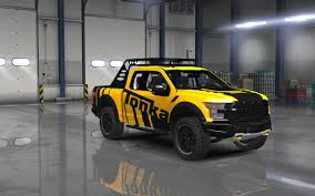 100 Ford F150 Truck Parts Raptor 2017 Mod For American Simulator