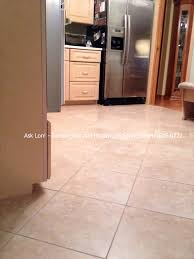 Tile Flooring Ideas For Kitchen by Bathroom Cozy American Olean Tile Floor With Table Lamp And